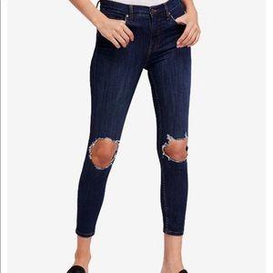 FP Busted Knee Skinny Jean